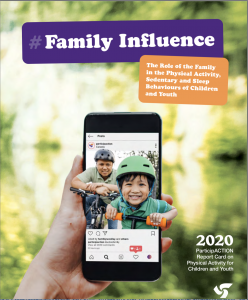 ParticipACTION Report Card on Physical Activity for Children and Youth, 2020